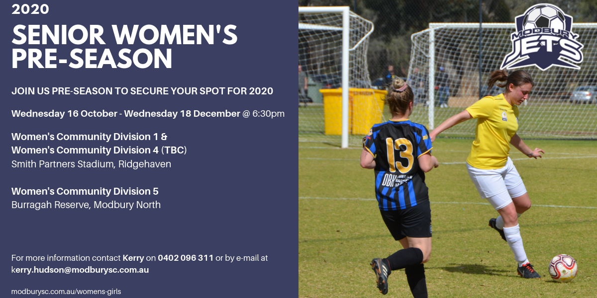 Senior Women's Trials 2020-2