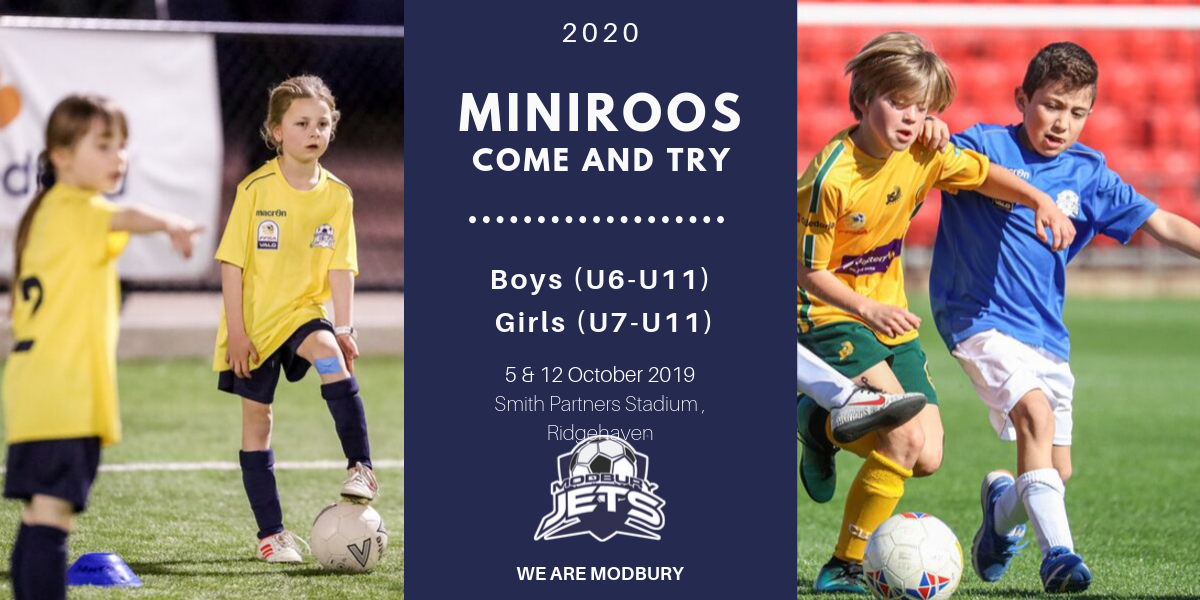 MiniRoos Come and Try 2020